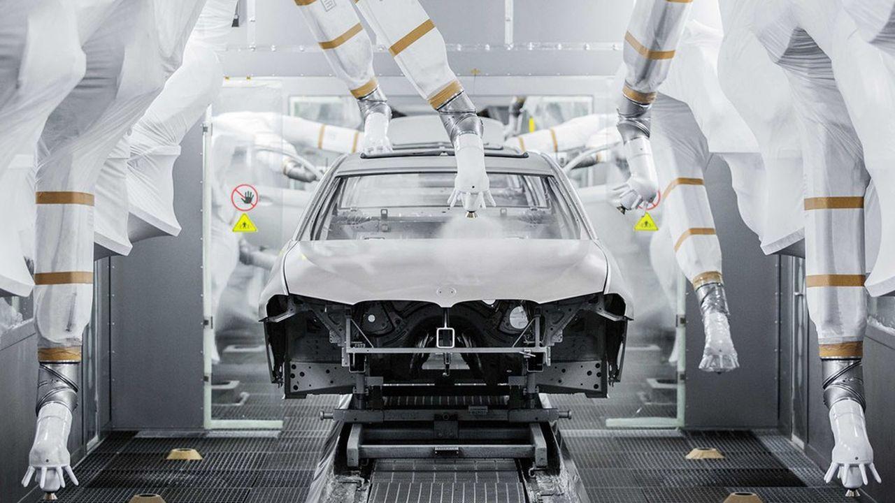 A l'usine BMW de Shenyang, au nord-est de la Chine, comme ailleurs, BMW assure n'avoir actuellement aucun impact de «sécurité d'approvisionnement».