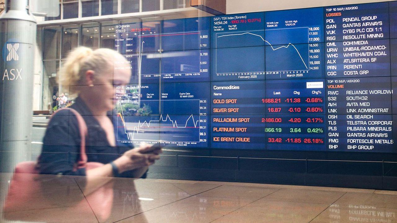 Les secteurs australiens de l'industrie et de l'énergie ont été particulièrement touchés par la déroute boursière ce lundi.