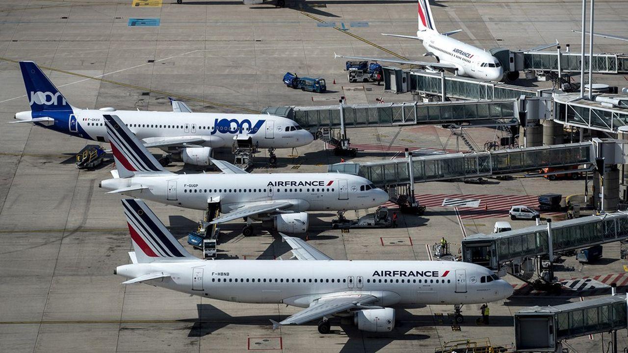 Comme bien d'autres, Air France-KLM va devoir clouer au sol une grande partie de sa flotte pour réduire ses pertes.