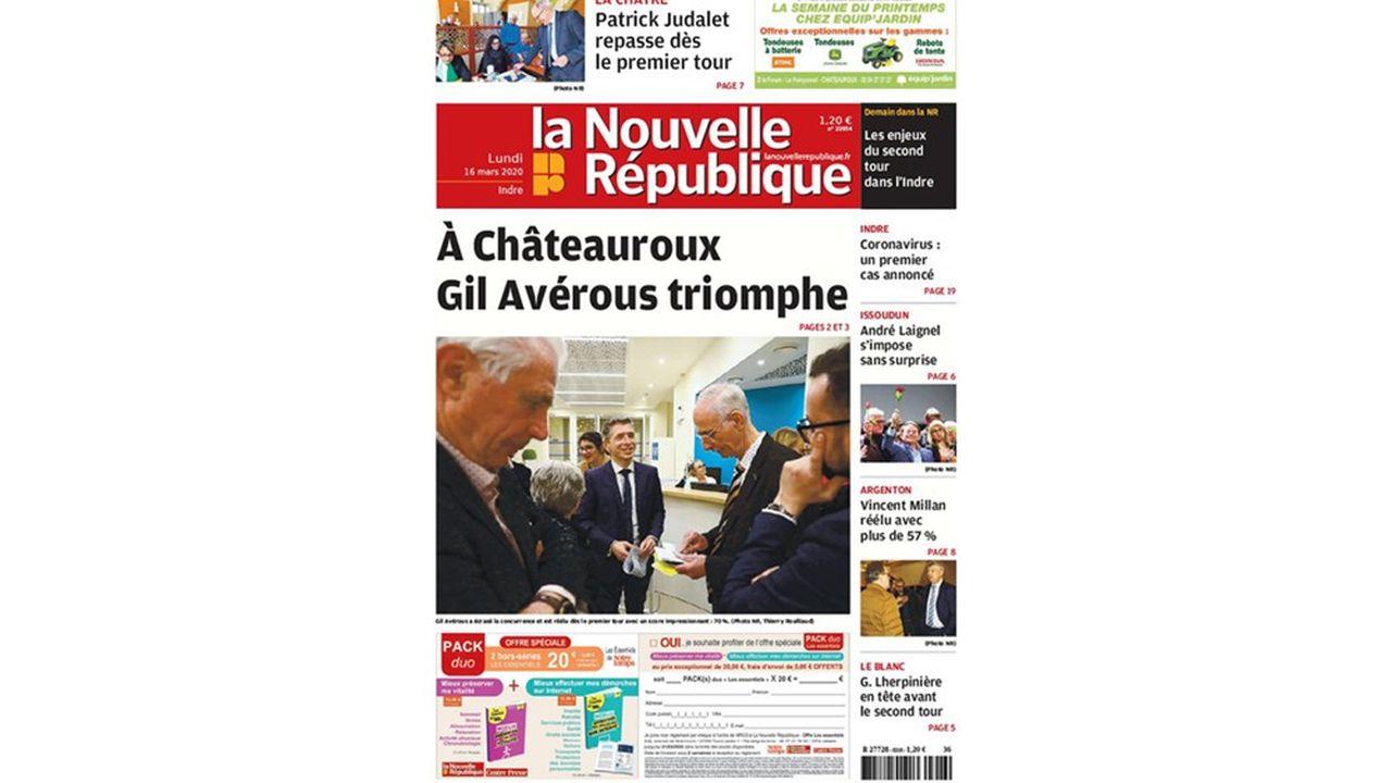 Depuis le 4mars, les cinqdépartements de la zone de couverture (Indre, Indre-et-Loire, Loir-et-Cher, Deux-Sèvres, Vienne) n'ont plus qu'une seule édition.