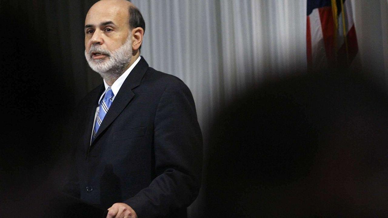 Ben Bernanke, patron de la Fed, lors de la crise des subprimes.