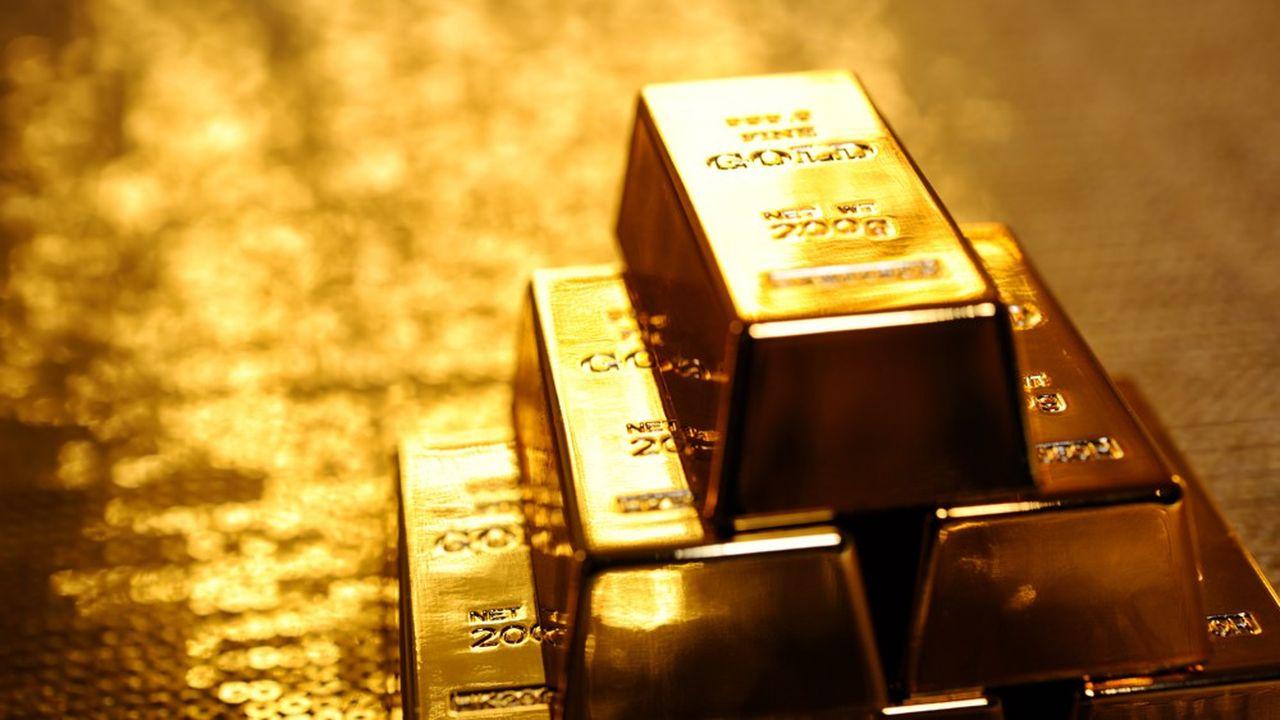 Après avoir testé la barre des 1.700dollars, l'or est passé sous les 1.500dollars l'once.