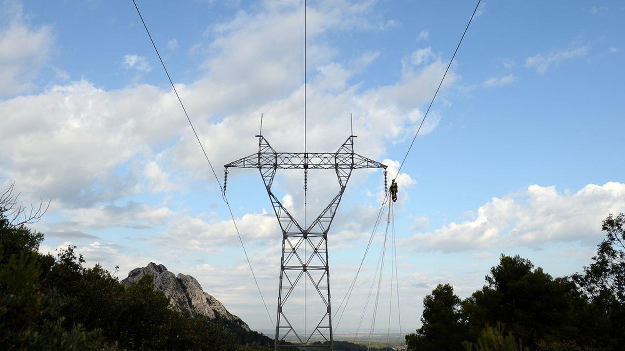 RTE a constaté ce lundi une baisse de 10% par rapport à la consommation d'électricité traditionnellement observée en mars.