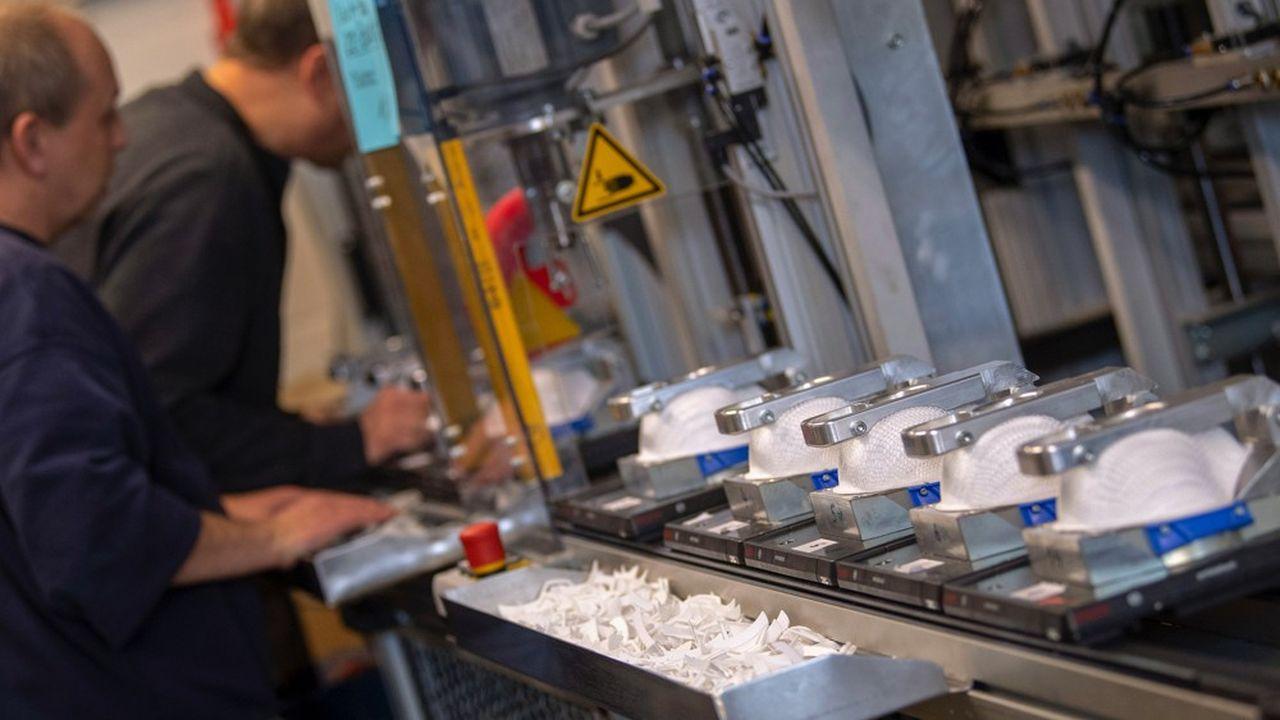 La PME allemande Moldex a dû doubler sa production pour répondre à la demande allemande et mondiale de masques de protection aux normes FFP3