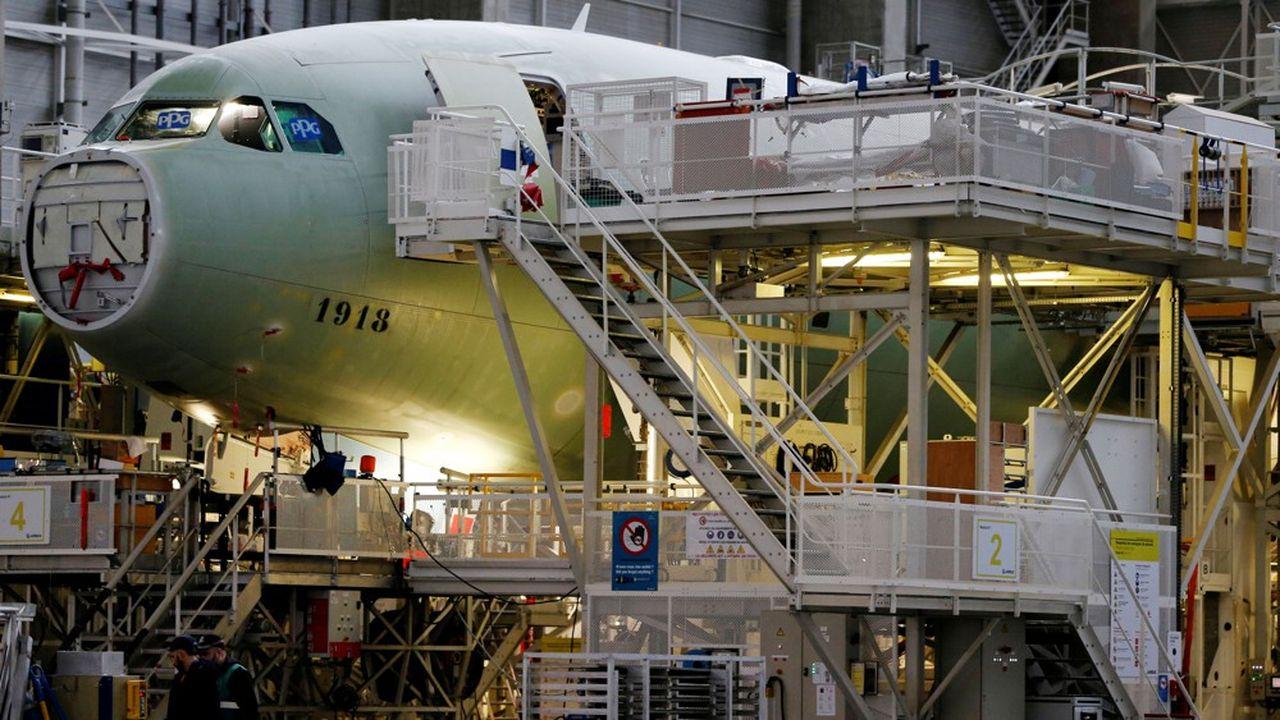 La production des A330, A350, A380 et d'une partie des A320 moyen-courriers, sera juste suspendue.