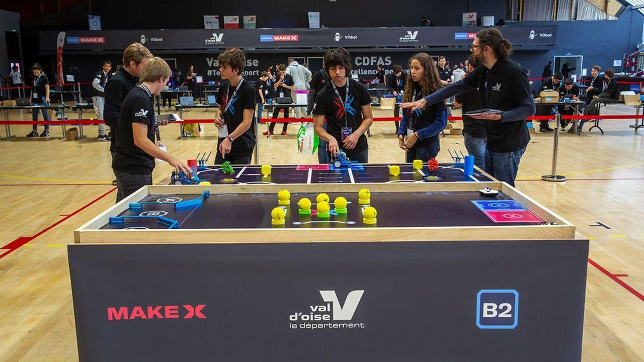 La deuxième édition du « Make X France », une compétition organisée pour les collégiens autour de la robotique, aura lieu le 4 novembre prochain au Centre départemental de formation et d'animations sportives (CDFAS) d'Eaubonneprochain.