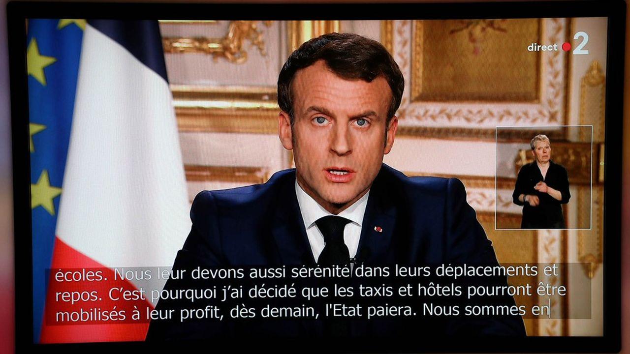 Emmanuel Macron a dû mettre son quinquennat entre parenthèses face à l'épidémie de coronavirus.
