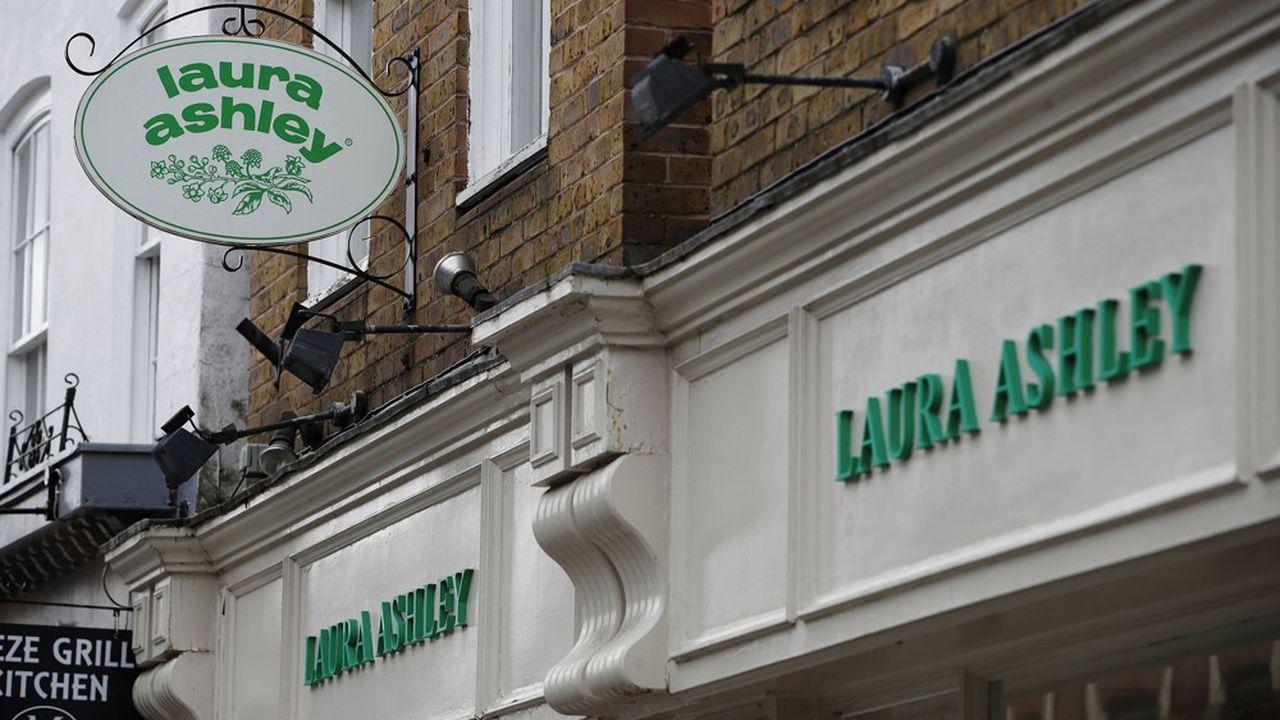 La chaîne créée en 1954 par la designer galloise Laura Ashley avait connu son heure de gloire dans les années 1970-1980.