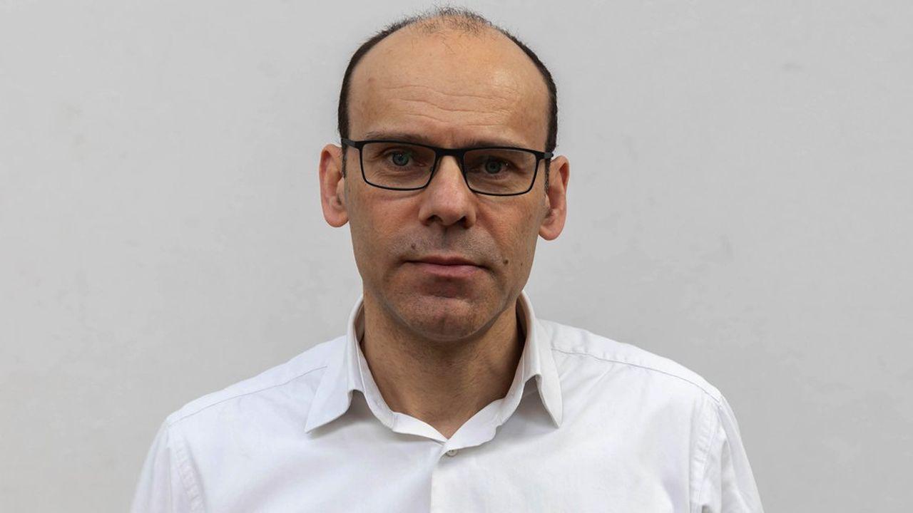 Eric Willemenot, le PDG de la société brestoise Move'N See.