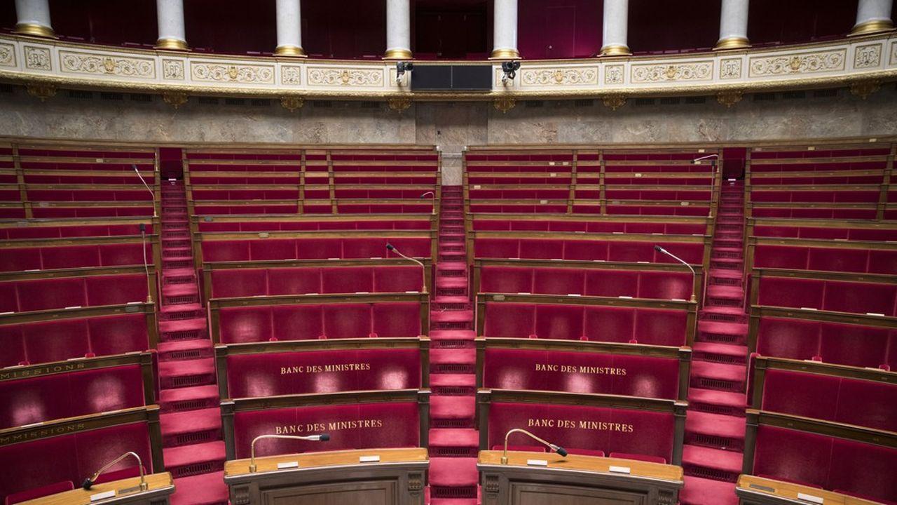 L'Assemblée, comme le Sénat, a suspendu ses travaux le temps de la campagne des municipales.
