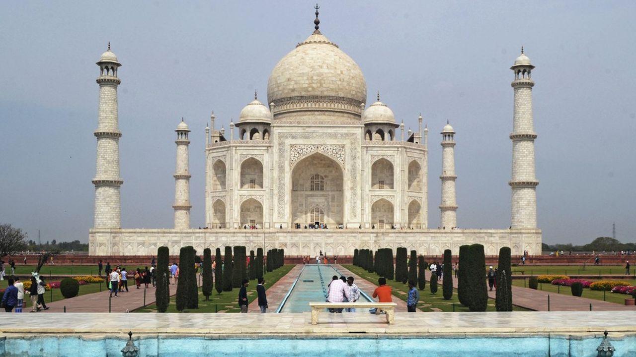 Le Taj Mahal, l'un des hauts lieux touristiques indiens va être fermé jusqu'au 31mars.
