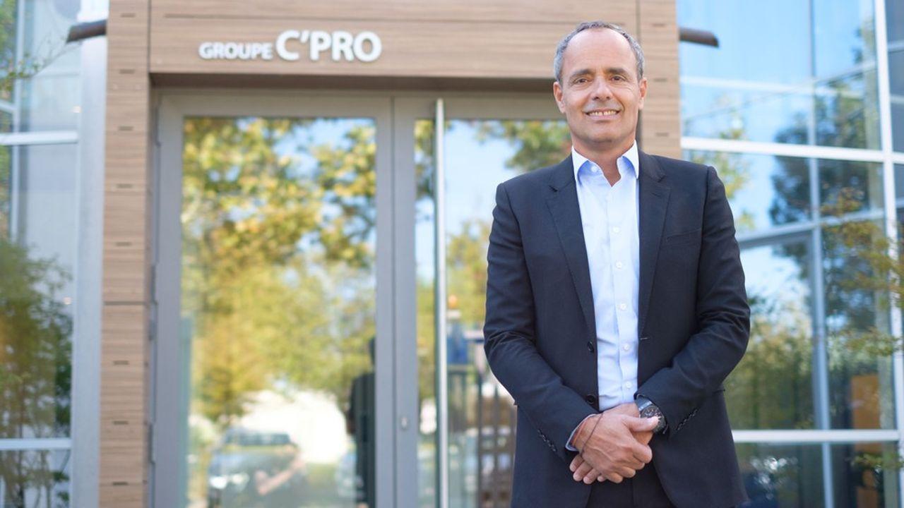 «Chaque année, nos croissances externes nous amènent environ 60millions d'euros de chiffre d'affaires», précise Pieric Brenier, président de C'Pro.