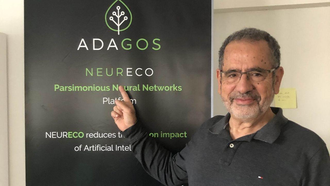 Mohamed Masmoudi, président de la société innovante toulousaine Adagos.