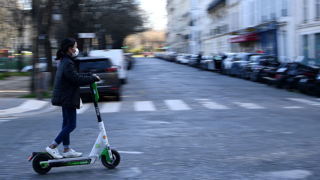 A l'image de ses nombreux concurrents, Lime a mis son service en pause en France.