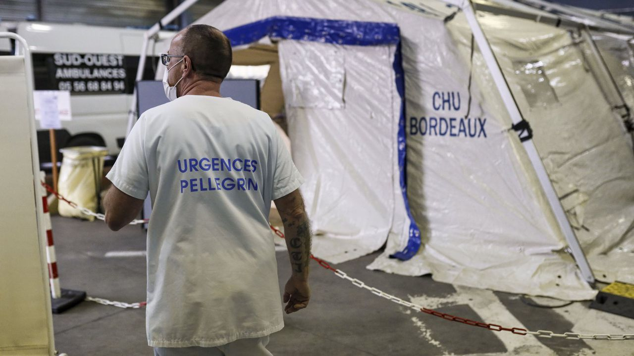 Exclusif - Coronavirus Covid 19 Service de médecine intensive réanimation de l'hôpital CHU de Bordeaux Pellegrin