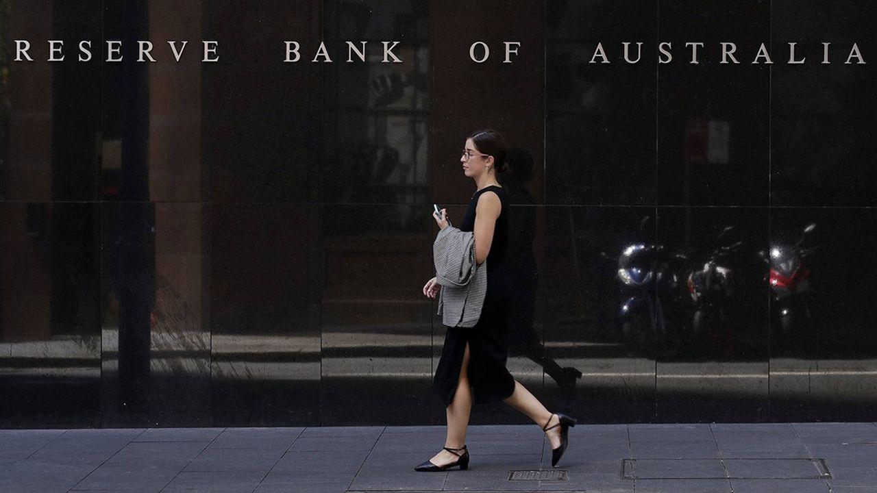 LaReserve Bank of Australia a abaissé son principal taux directeur à deux reprises depuis mardi.