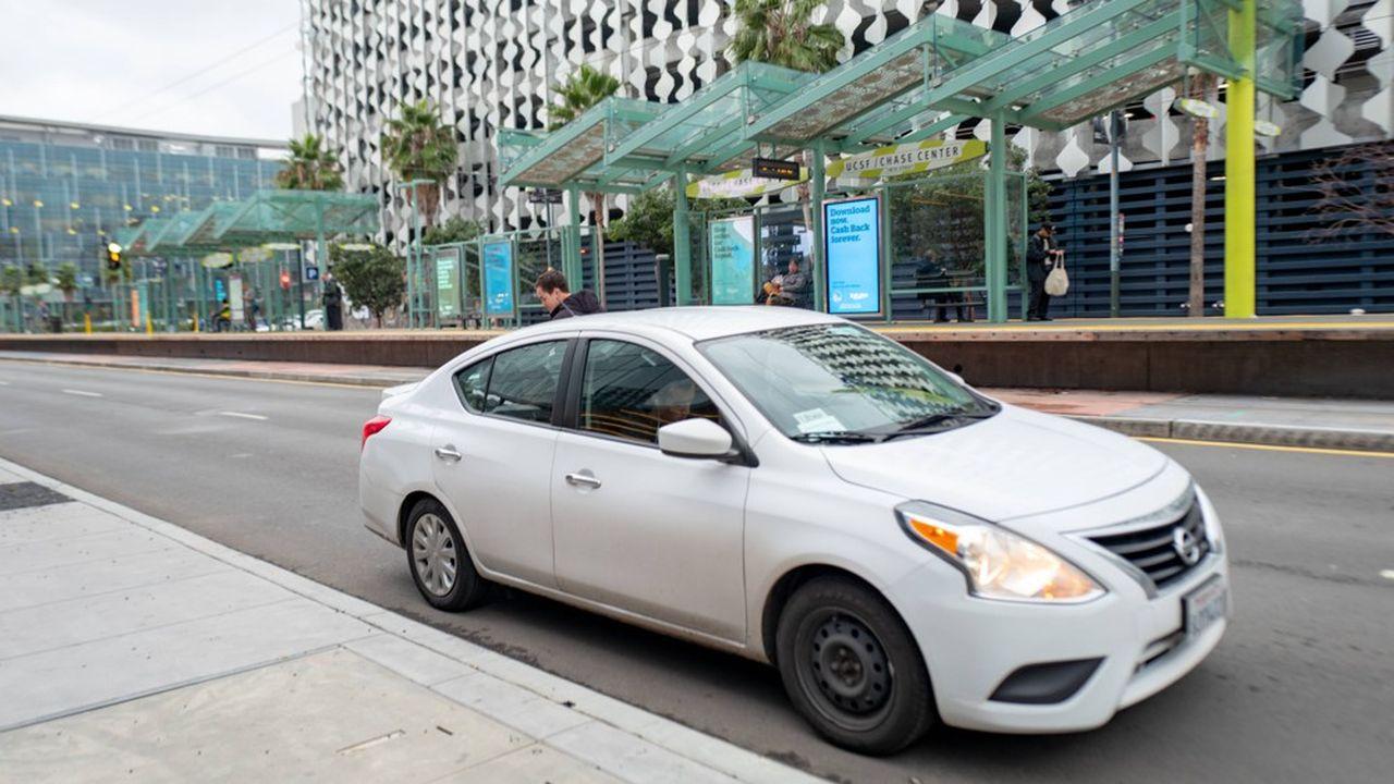 Dans l'Etat de Californie, qui représente 9% des commandes d'Uber (ici Mission Bay, à San Francisco), sept comtés de la baie de San Francisco ont adopté des mesures de confinement strictes.