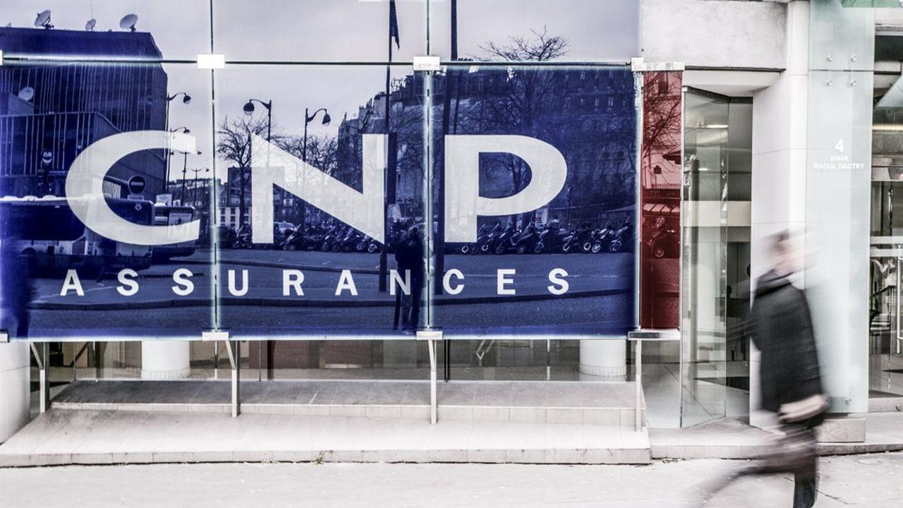 Le siege social de CNP Assurances.