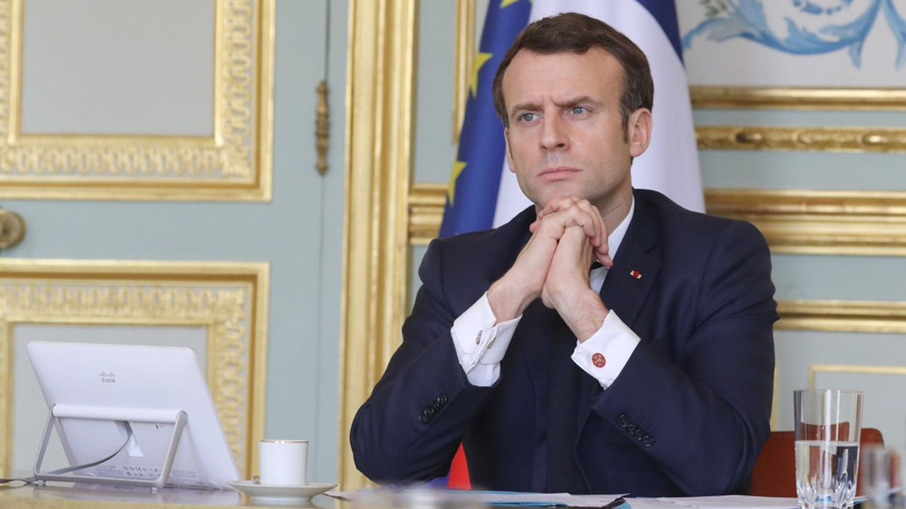 «Il faut la continuité de la nation […] ce qui nécessite tout un travail d'organisation de notre économie», a souligné jeudi Emmanuel Macron.