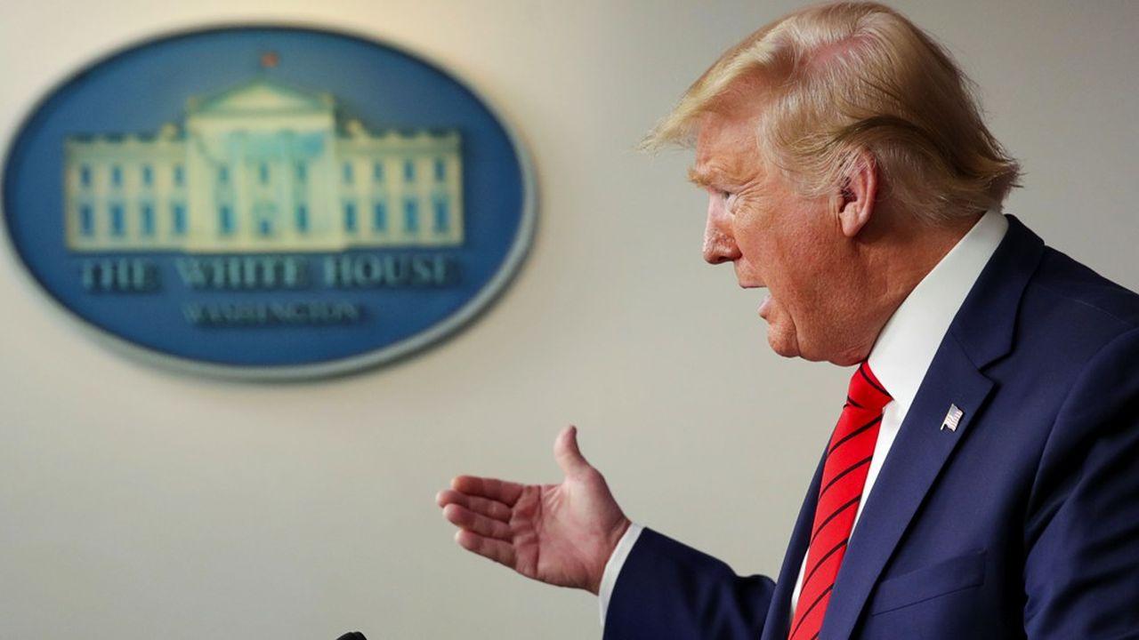 La chloroquine, qui a «montré des résultats préliminaires très très encourageants», pourrait «changer la donne» face à la pandémie, a estimé Donald Trump.