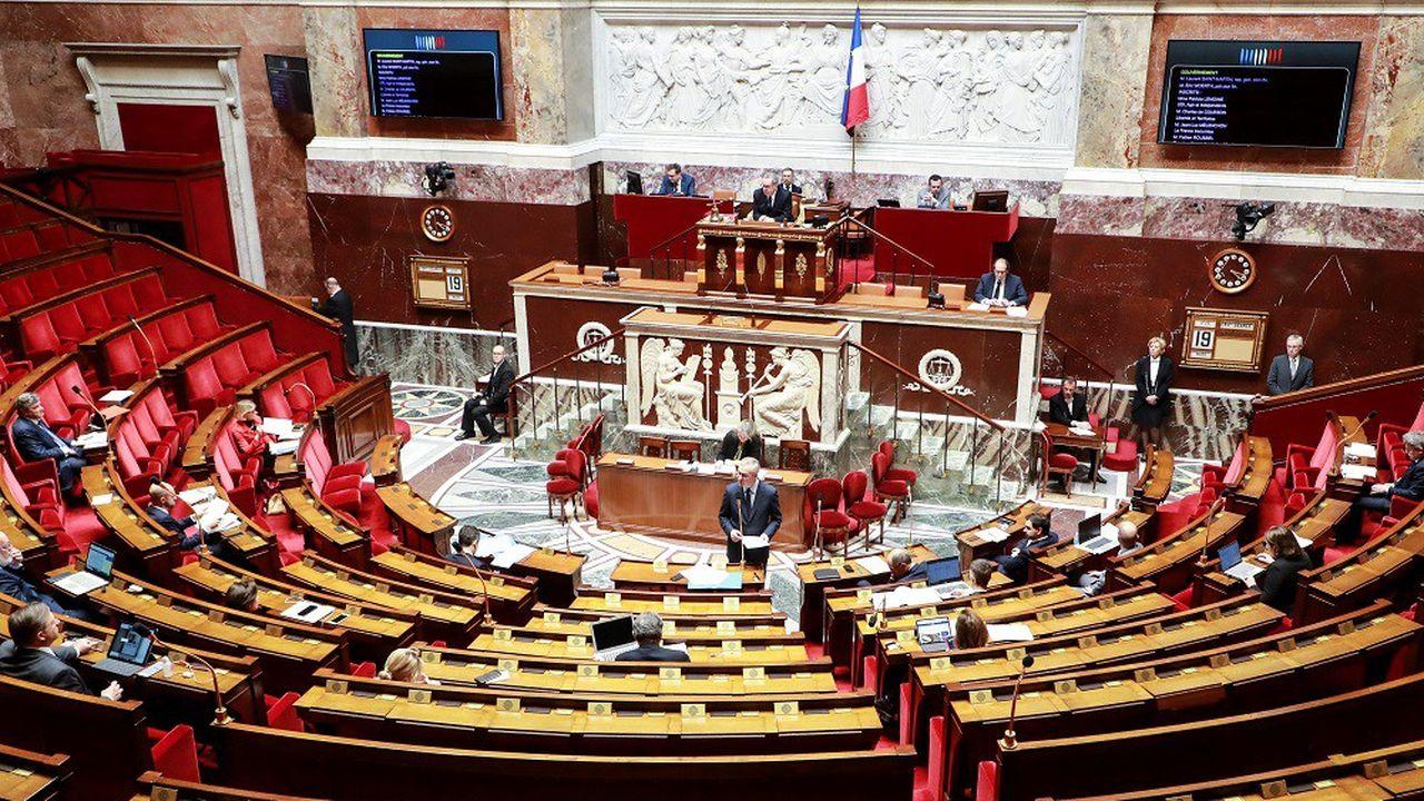 L'Assemblée examinera le projet d'état d'urgence sanitaire ce vendredi.