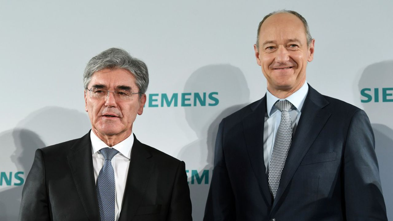 Joe Kaeser, le patron de Siemens, cède son siège à son vice-président, Roland Busch, qui prendra déjà en mains le budget 2021 du groupe dès le 1eravril