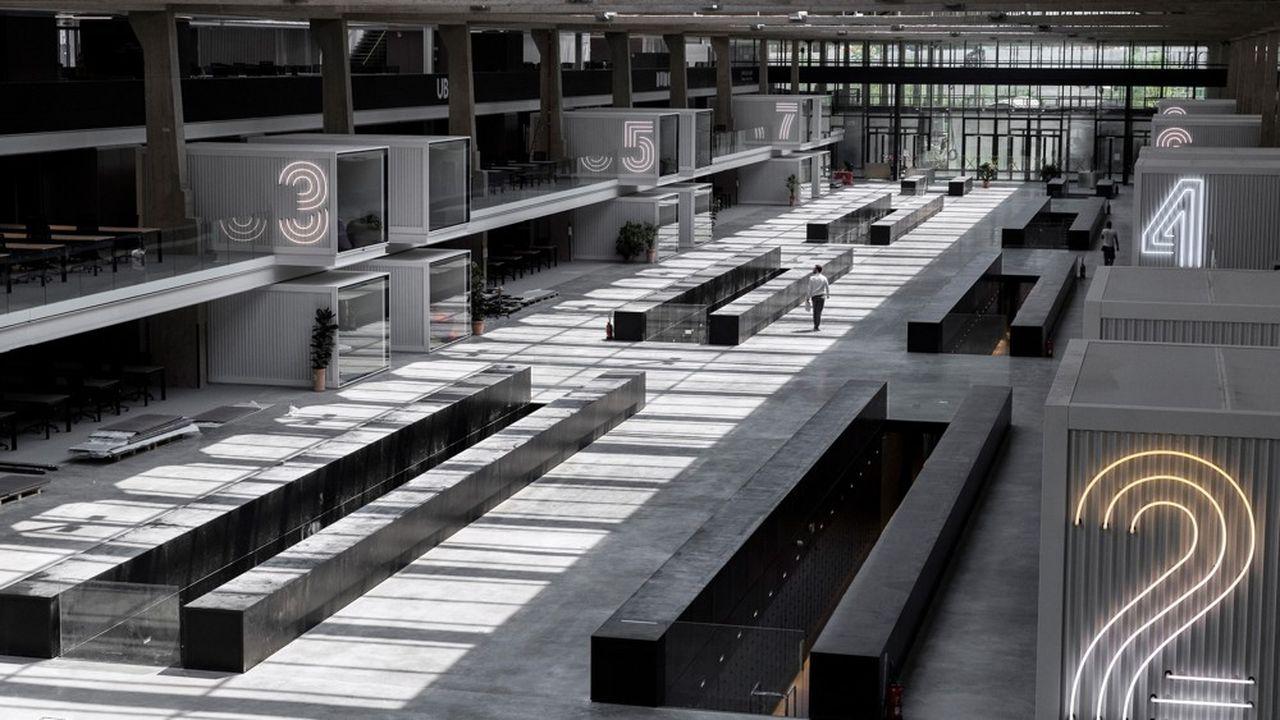 Station F, le plus grand campus de start-up au monde, s'est vidé de ses 3.500 occupants.