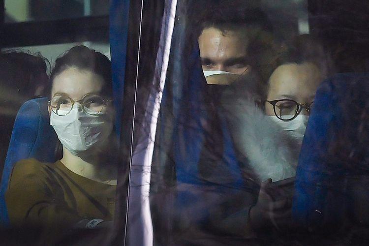 Le 31janvier, des Français sont rapatriés de Wuhan, en Chine.