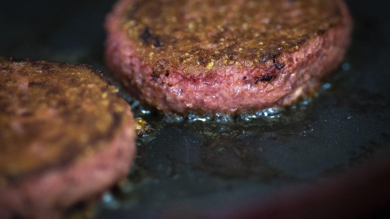 Disponible dans 77.000 points de vente fin 2019, le «Beyond Burger» est le «plat signature» de la marque.