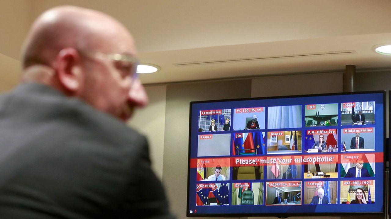 Jeudi, les chefs d'Etat et de gouvernement de l'Union européenne se réuniront en vidéo conférence pour la troisième fois depuis le début de la crise liée au coronavirus.