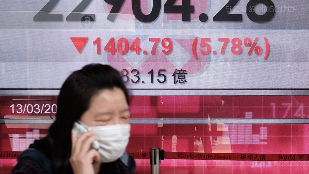 Les places financières de Chine continentale ont passé la journée dans le rouge.