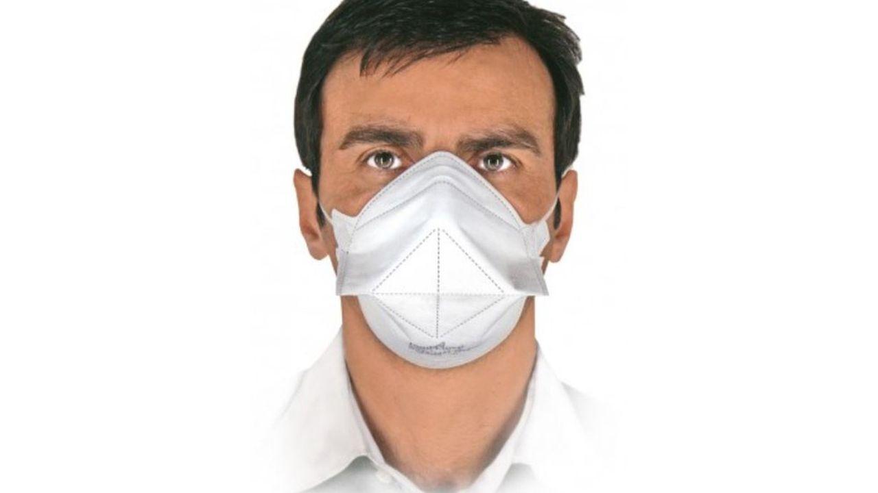 Le fournisseur proposait des masques FFP2 sur son site Internet au prix de 59euros les 50 unités avant la réquisition par l'Etat.