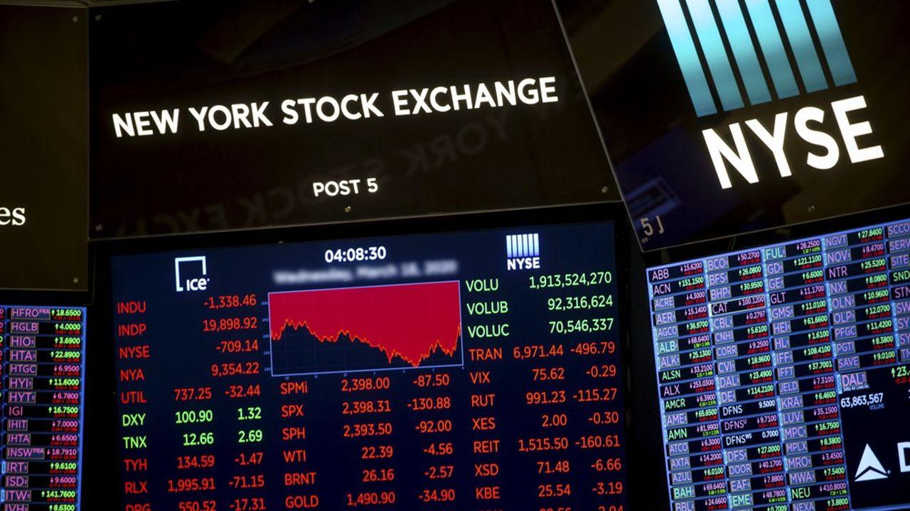 En un mois, le taux d'intérêt demandé aux entreprises fragiles financièrement est passé de 5 % à près de 11 % en moyenne aux Etats-Unis, de quoi mettre sérieusement en péril la capacité de refinancement de ces sociétés.