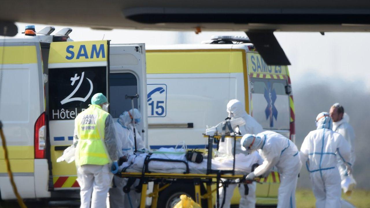 «Les deux principaux lieux de décès sont l'hôpital et les Ehpad», a indiqué le directeur général de la Santé.