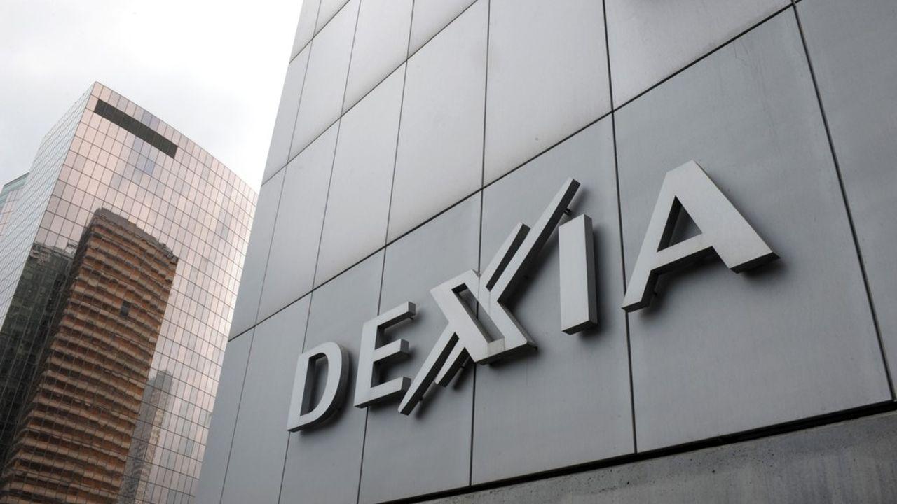 Le siège de la banque franco-belge Dexia.