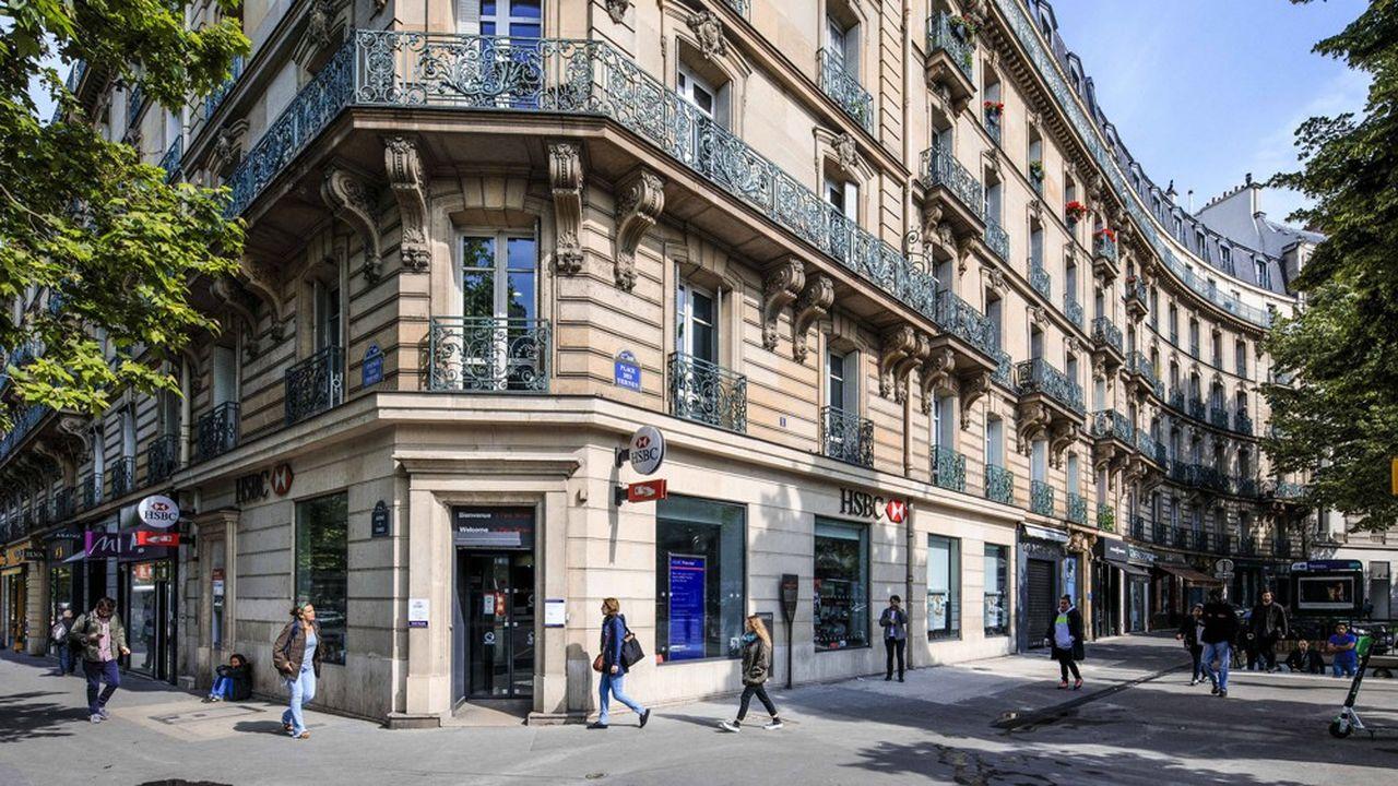 Le géant sino-britannique HSBC a mis en vente la banque de particuliers de sa filiale française.