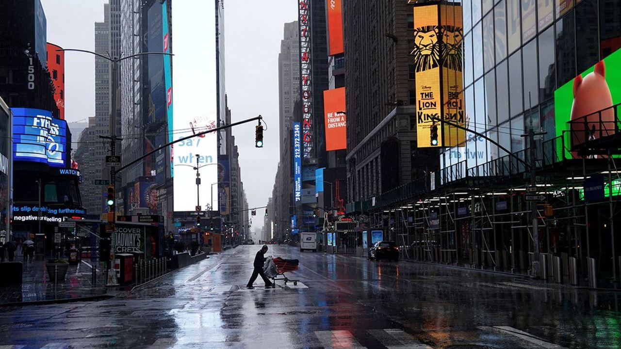 New York à l'heure du Covid-19.