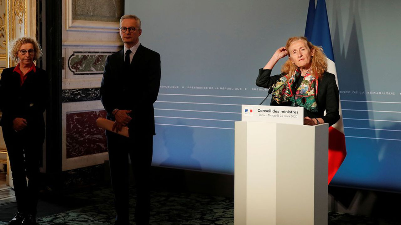La garde des Sceaux, Nicolas Belloubet, ici à l'issue du Conseil des ministres de mercredi, a estimé ce jeudi matin sur France Inter qu'il est «regrettable» de demander «aujourd'hui «des commissions d'enquête.