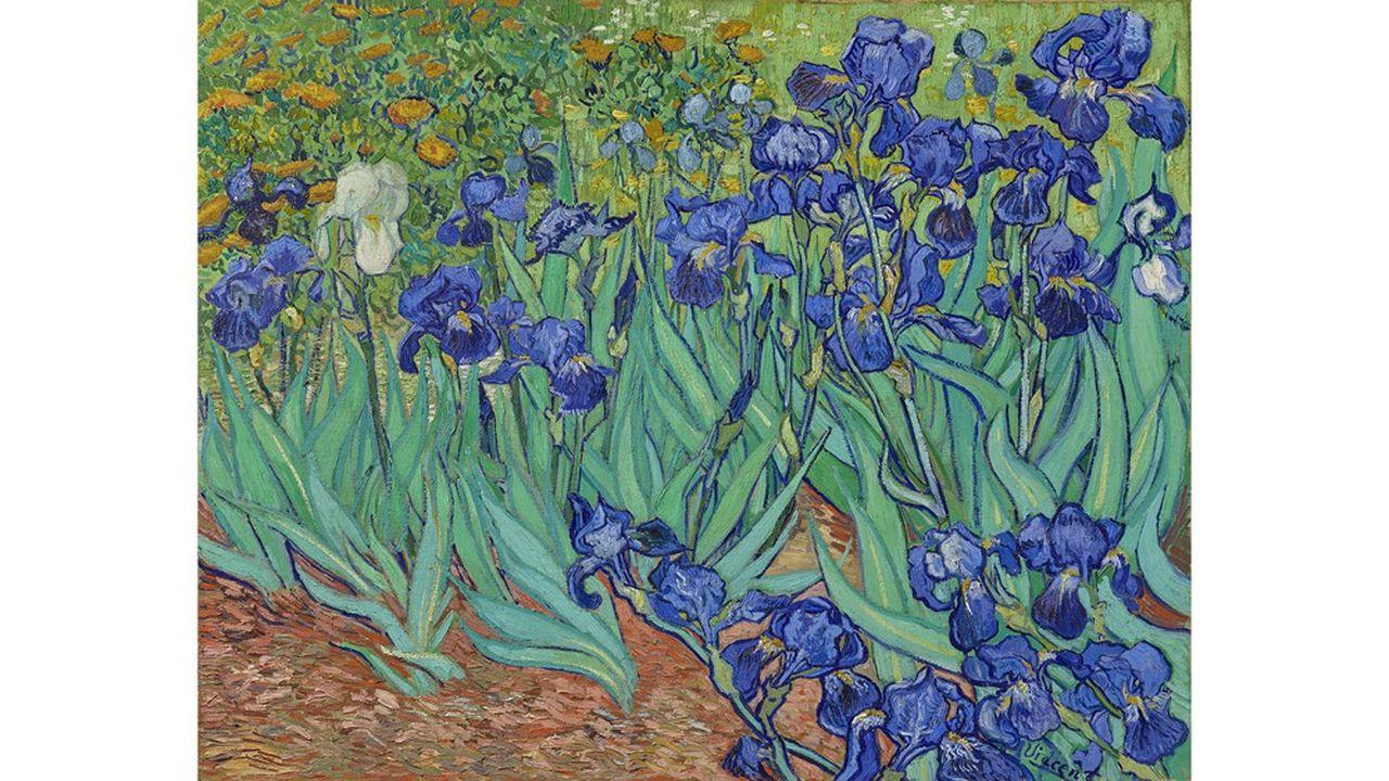 En 1987, moins d'un mois après la baisse record du Dow Jones à New York, Sotheby's proposait à la vente « Les Iris » de Van Gogh, un des tableaux mythiques de l'artiste hollandais.