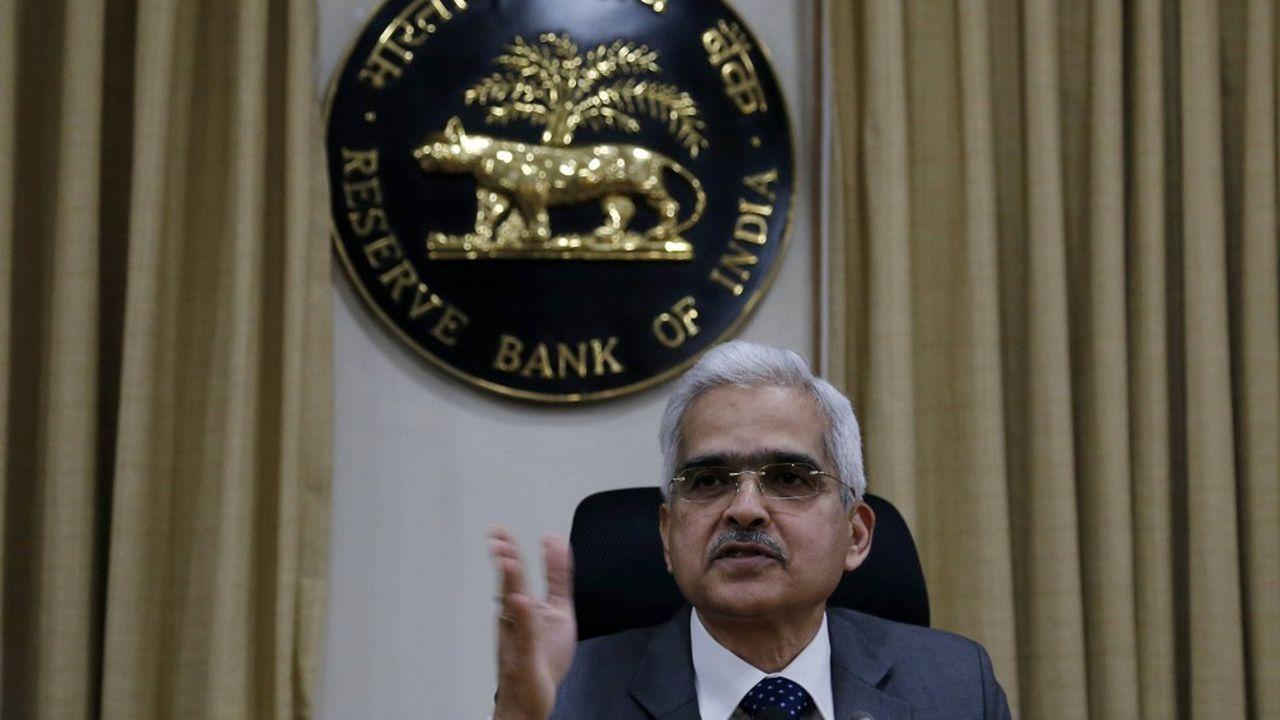 Le gouverneur de la Reserve Bank of India Shaktikanta Das.