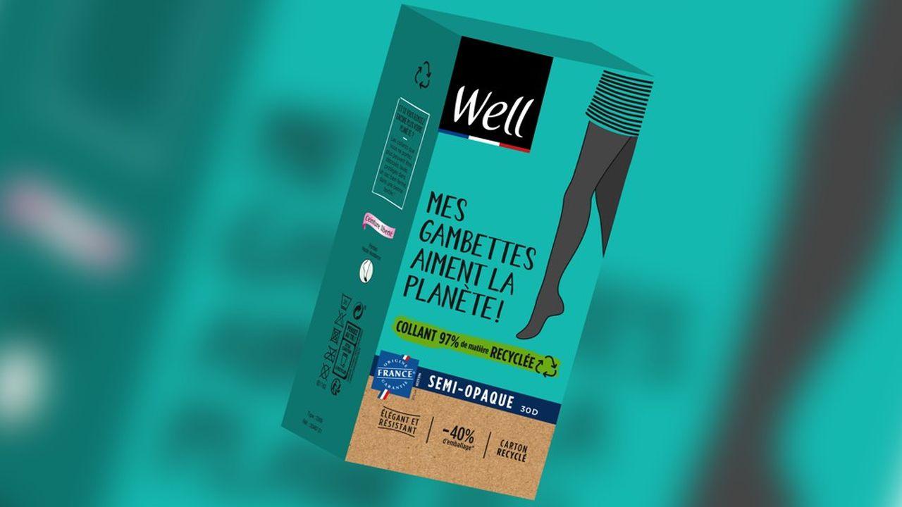 Avec sa marque de collants eco-responsable, Well veut conquérir une clientèle plus jeune, car la sienne a vieilli.