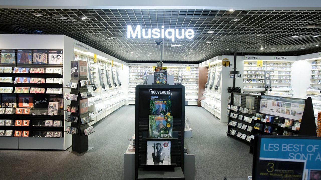 Les ventes de CD et vinyles s'effondrent en France.
