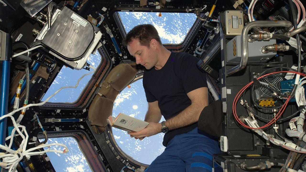 L'astronaute Thomas Pesquet a vécu dans la Station spatiale internationale (ISS) de novembre2016 à juin2017.