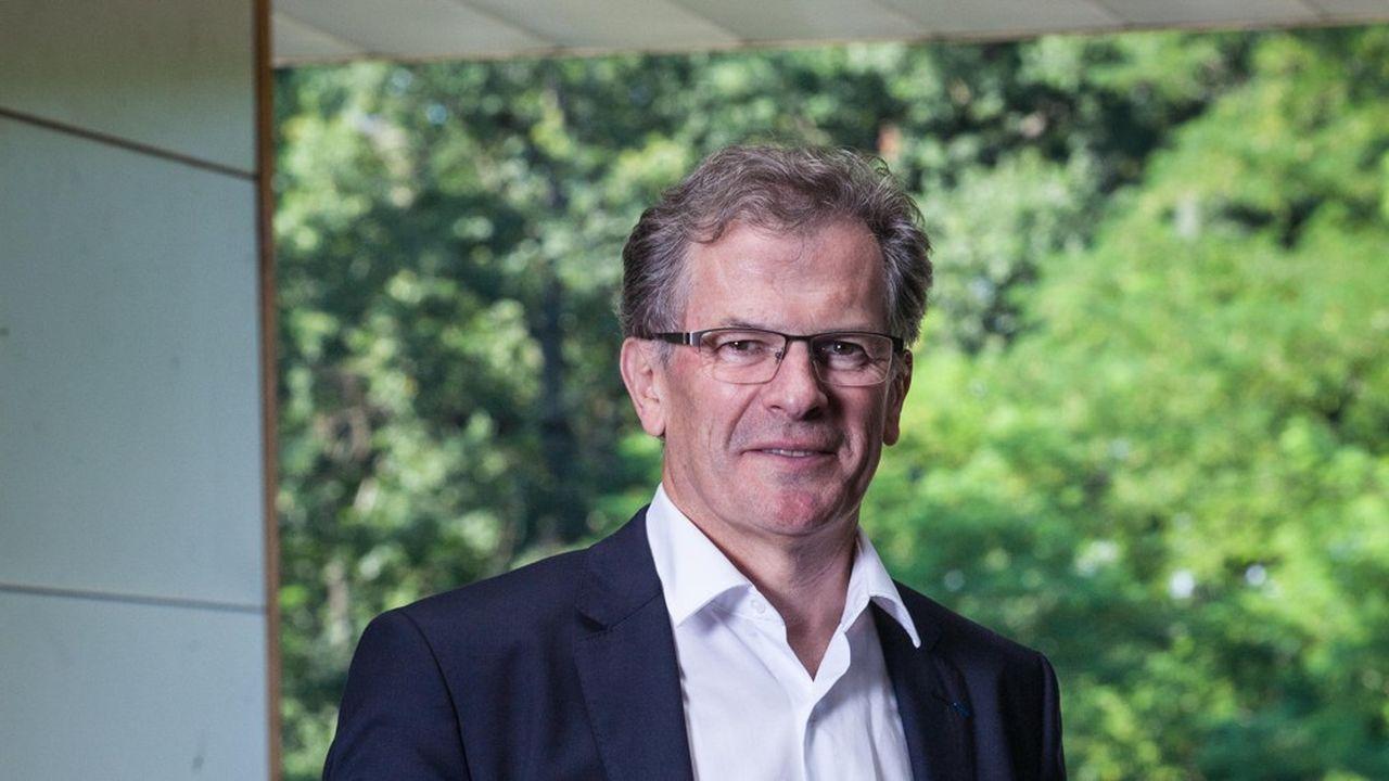 Jean-François Clédel, président de la CCI Nouvelle-Aquitaine.