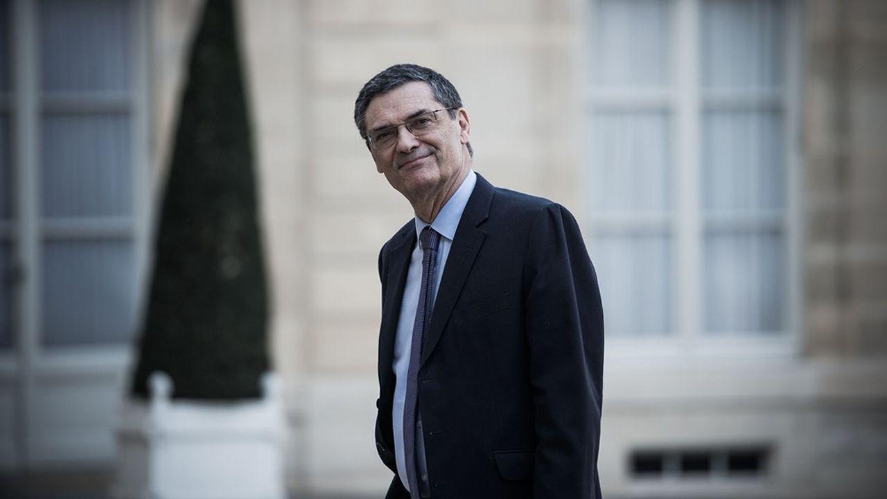 Patrick Devedjian au Palais de L'Elysee le 21Février 2019.