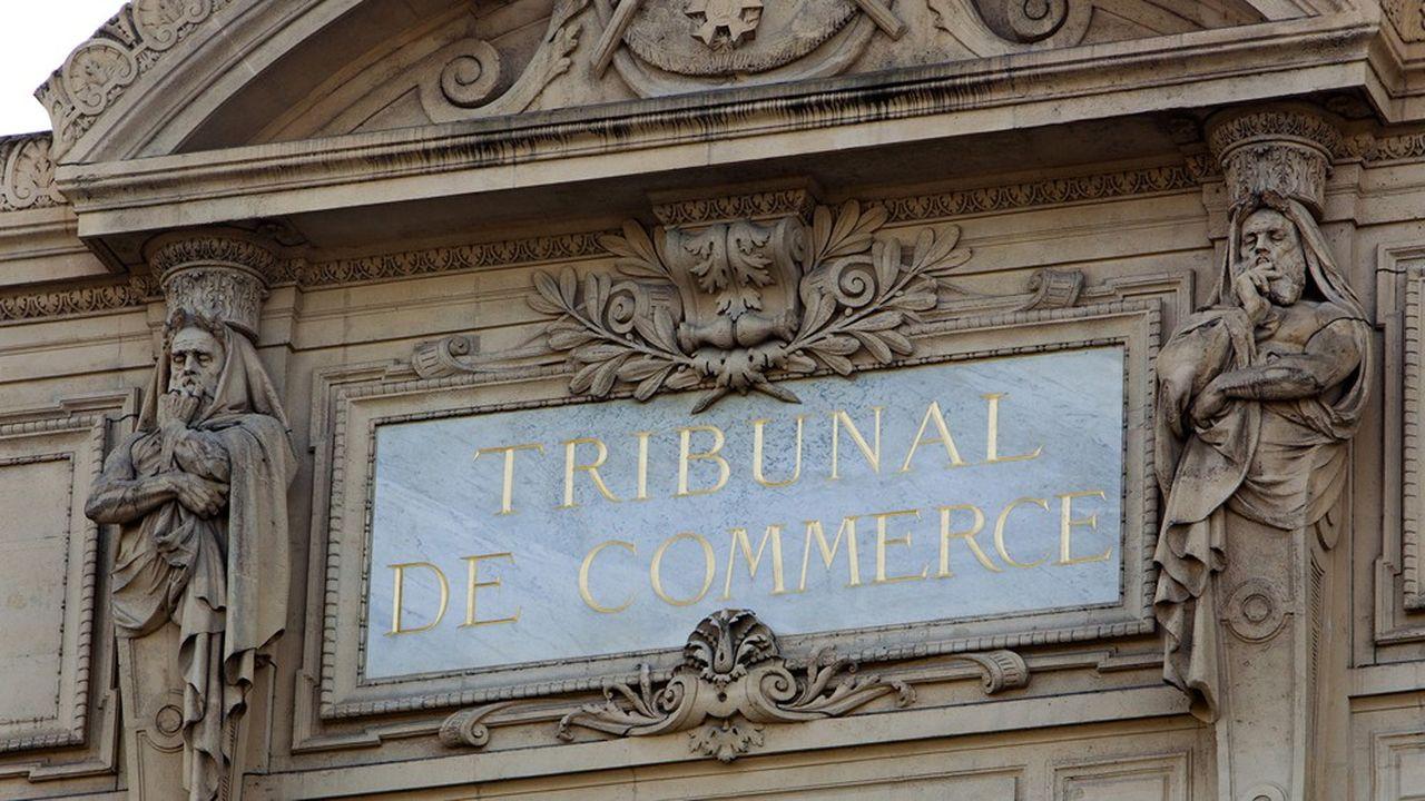 Comme les autres tribunaux, les tribunaux de commerce sont fermés depuis la mi-mars.