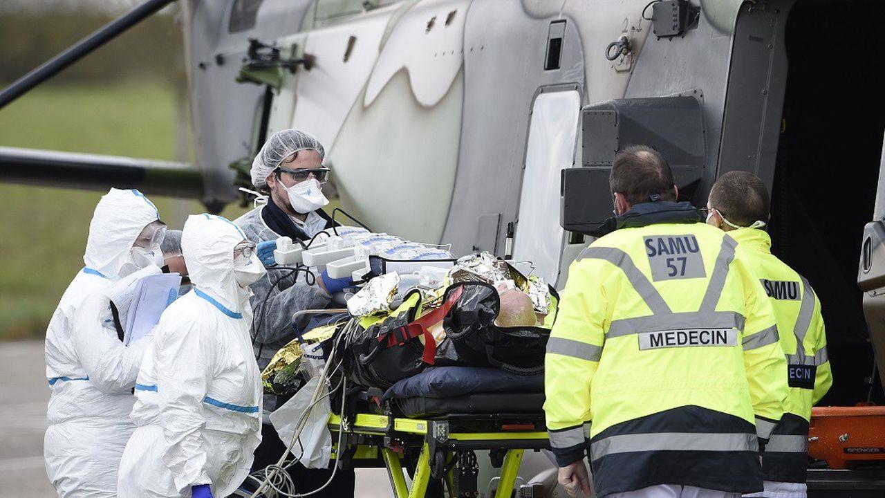 «Il y a une augmentation de 10% de malades entrants depuis hier, reflet de contaminations survenues avant les mesures de confinement», a précisé Jérôme Salomon.