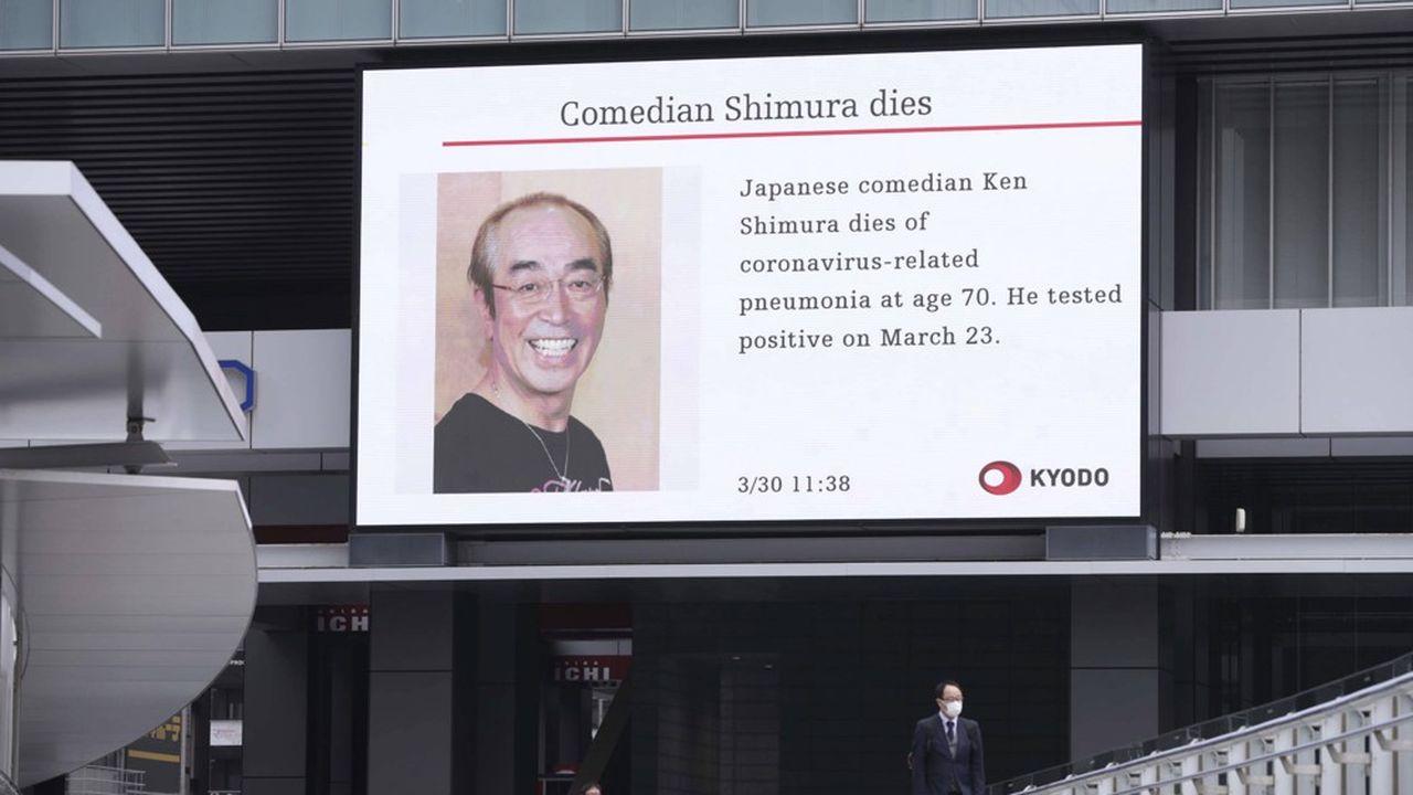 Le comédien Ken Shimura, hospitalisé le 20mars juste avant d'être testé positif au Covid-19 et âgé de 70 ans, est mort dans la soirée de dimanche des suites de la pneumonie virale.