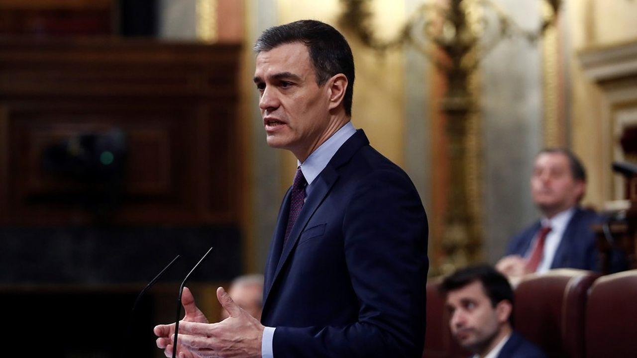 Le Premier ministre espagnol, Pedro Sánchez.