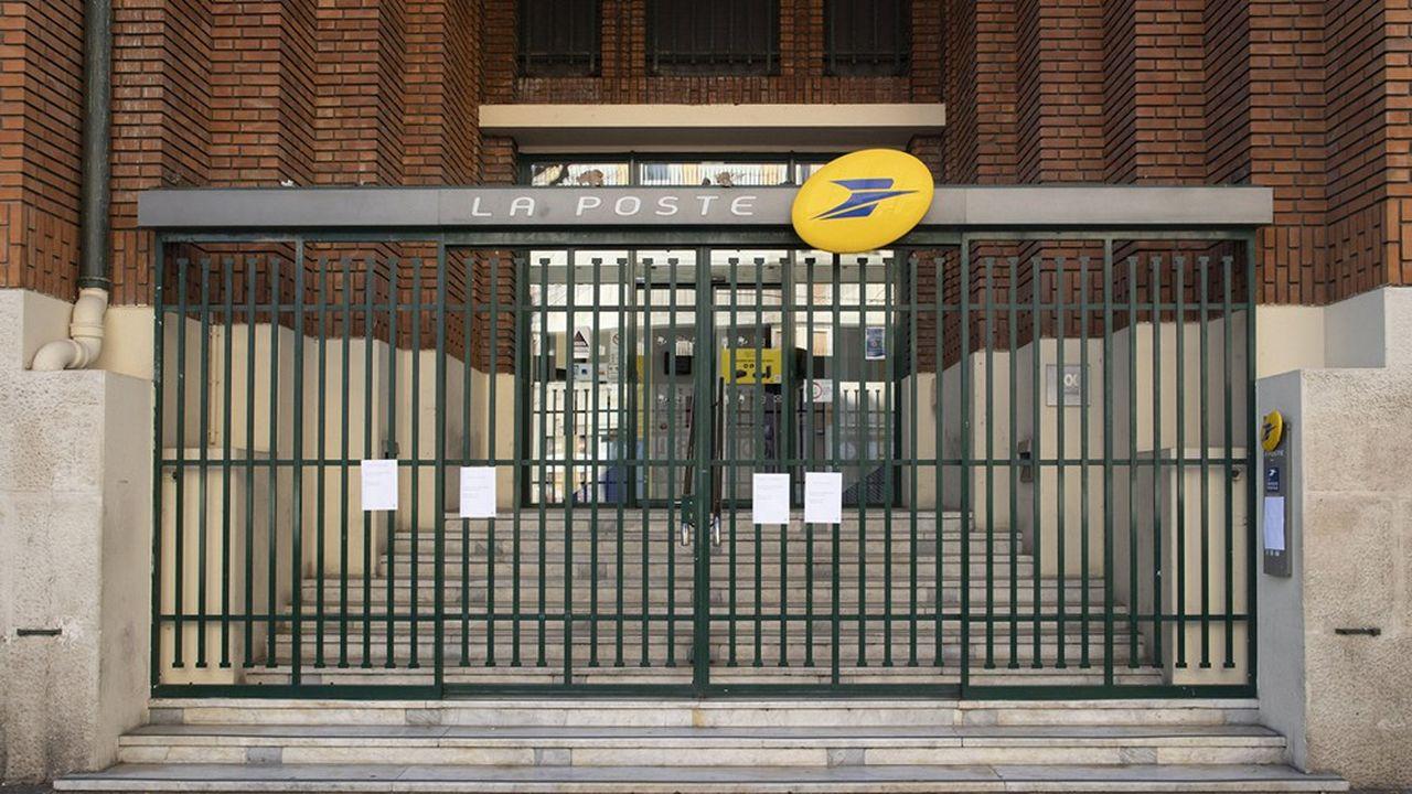 En raison de l'épidémie du Coronavirus, seuls 1.600 bureaux de poste restent pour l'instant ouverts, sur un total de 7.700